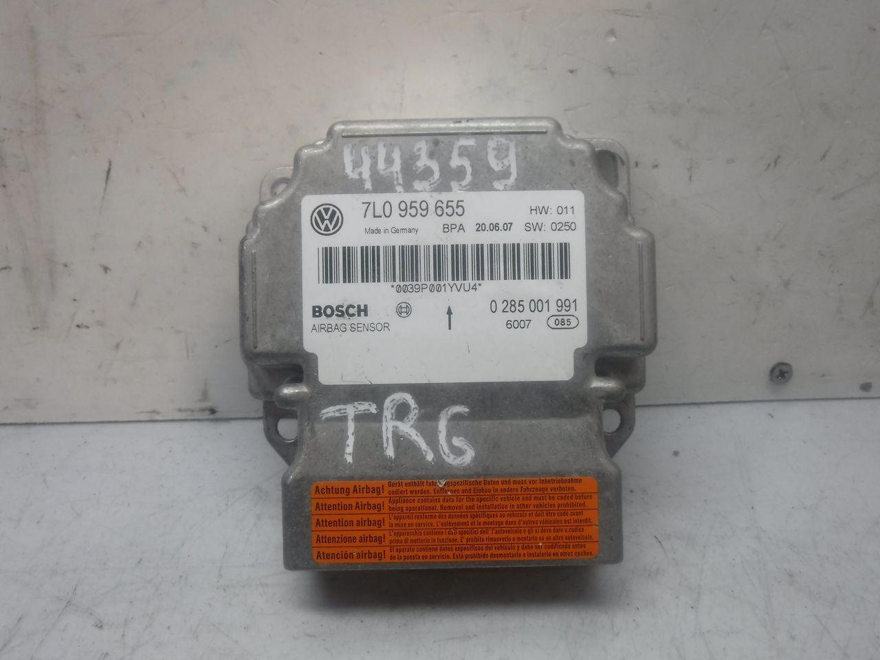 Блок управления AIR BAG VW Touareg 2